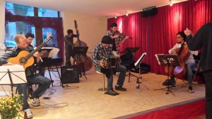 "SEXTETO VISCERAL Live in La academia Tango Dresden * 17. & 18. Mai 2015 * Live-Show zum Tango!Café und Workshop ""Fundamental Styles in Tango"""